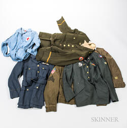 Group of Military Uniforms