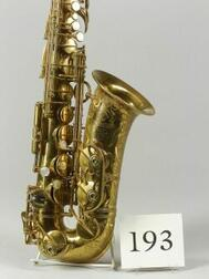 French Alto Saxophone, Selmer, Paris,1939,   Model Balanced Action, serial number 27945