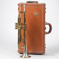Trumpet, King Silver Tone by H.N. White Co., Cleveland