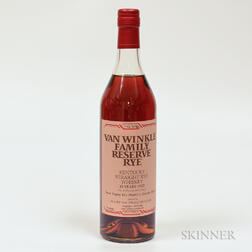 Van Winkles Family Reserve Rye 13 Years Old, 1 750ml bottle