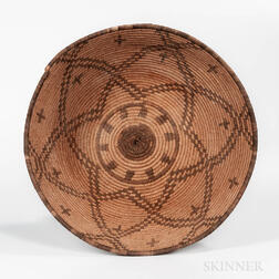 Western Apache Coiled Tray