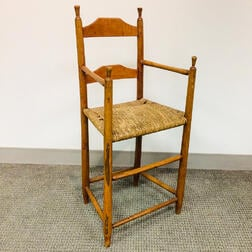 Country Turned Maple High Chair