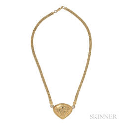 18kt Gold and Diamond Necklace, David Stern