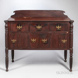 Classical Mahogany and Mahogany Veneer Sideboard