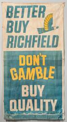"""Better Buy Richfield"" Canvas Sign"