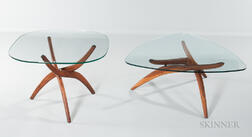 Two Danish Modern Low Tables
