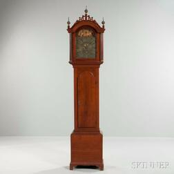 Thomas Wentworth Eight-day tall Clock with Automaton in the Arch