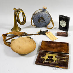 Group of Militaria and Maritime Items