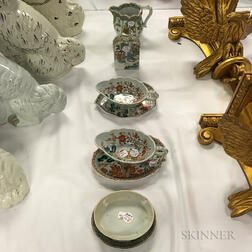 Eight Pieces of Chinese Export Porcelain