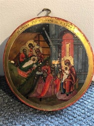 Fifteen Russian Feast Day Icons