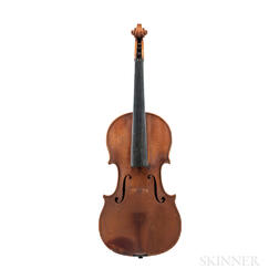 German Violin, Theodor Berger, Markneukirchen, c. 1930