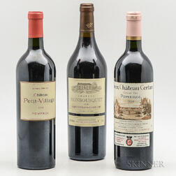 Right Bank Reds, 3 bottles
