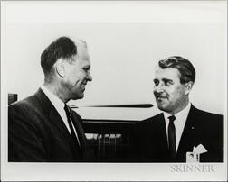 von Braun, Wernher, Four Photographs and a Slide.
