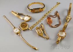 Assorted Group of Lady's Wristwatches
