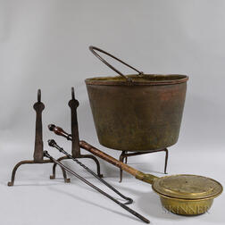 Group of Hearth Items