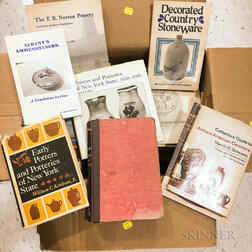 Collection of American Pottery Reference Books