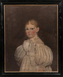 American School, Mid-19th Century    Portrait of Eleanor Neller