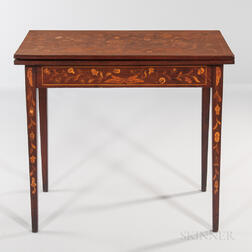 Mahogany Card Table