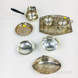 Eight Pieces of American Hollowware