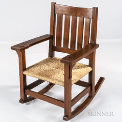 Arts and Crafts Rocking Chair
