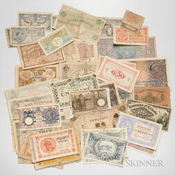 Group of World Bank Notes