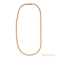 18kt Gold Necklace, John Paul Miller