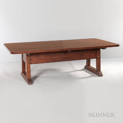 Gustav Stickley Director's Table