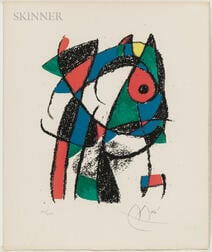 Joan Miró (Spanish, 1893-1983)      Untitled