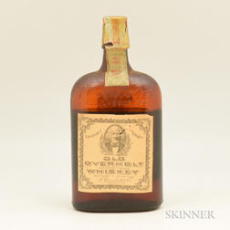 Old Overholt Pure Rye Whiskey 11 Years Old 1921, 1 pint bottle
