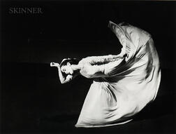 Barbara Morgan (American, 1900-1992)      Martha Graham: Letter to the World
