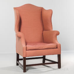 Mahogany Easy Chair