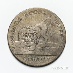 1791 Sierra Leone Co. 20 Cents