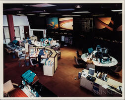 Jet Propulsion Laboratory, Deep Space Network, Four Photographs, 1981.