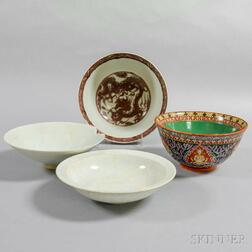 Four Chinese Bowls