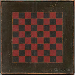 Small Painted Checkerboard