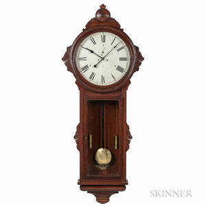 "Ansonia ""General"" Regulator Wall Clock"