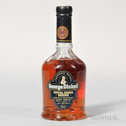 Bourbon Heritage Collection George Dickel Special Barrel Reserve 10 Years Old, 1 750ml bottle