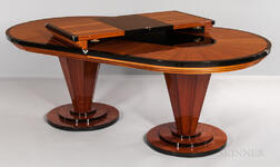 Lee Weitzman Contemporary Art Deco Dining Room Table