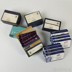 Large Group of U.S. Mint and Proof Sets
