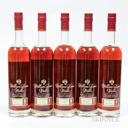 Buffalo Trace Antique Collection William Larue Weller Vertical, 5 750ml bottles