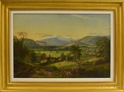 American School, 19th/20th Century      White Mountains  /View Near Conway Valley, New Hampshire
