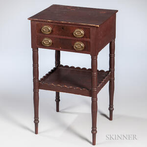 Two-drawer Work Table
