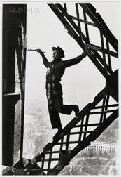 Marc Riboud (French, 1923-2016)      Le Peintre de la Tour Eiffel (Painter of the Eiffel Tower), Paris
