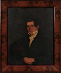 Canadian School, Early 19th Century      Portrait of Jonathan Bliss