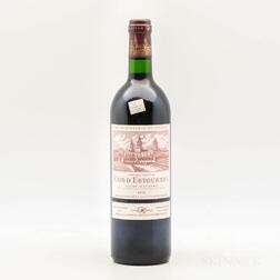 Chateau Cos dEstournel 1995, 1 bottle