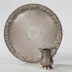Two Pieces of Silver Tableware
