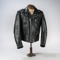Black Leather Perfecto Motorcycle Jacket