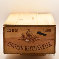 Chateau Beychevelle 1985, 12 bottles (owc)