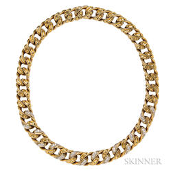 18kt Gold and Diamond Necklace, Tiffany & Co.
