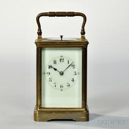 Brass Hour Repeating Carriage Clock